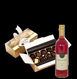 Wine, Sweets, Flowers